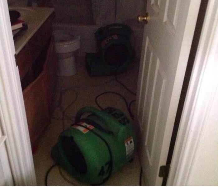 Water damage in San Antonio, TX